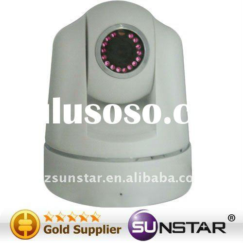 cmos cctv wireless camera Wireless/Wired CMOS IR Camera with P/T Remote Control, Supports Image Snap