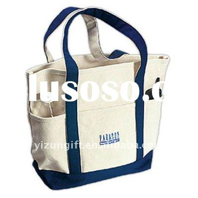 cotton shopping tote bag, canvas shoulder bag
