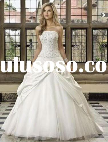 custom gown bridal bridesmaid wedding evening dress off-shoulder prom party XU0042