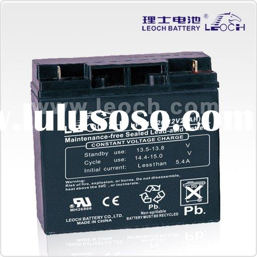 deep cycle sealed lead acid battery (12V,20AH)
