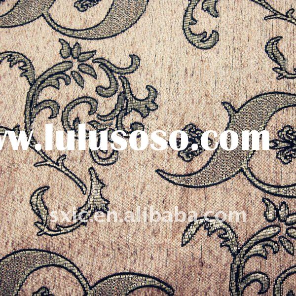 design sofa colorful fabric pattern/latest chenille jacquard designs/upholstery chenille fabric/jacq