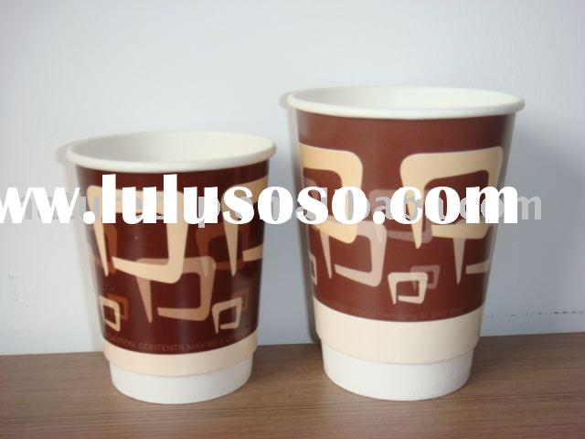 double wall paper coffee cup