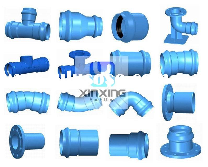 Ductile iron water main fittings ductile iron water main for Water main pipe material