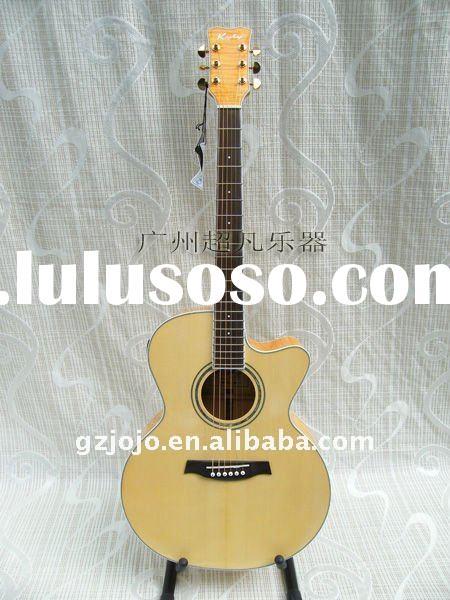 electric guitar acoustic guitar