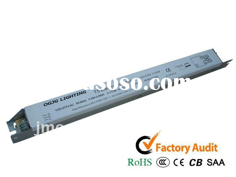 electronic ballast for T5 HO lamps, T5 HO electronic ballast