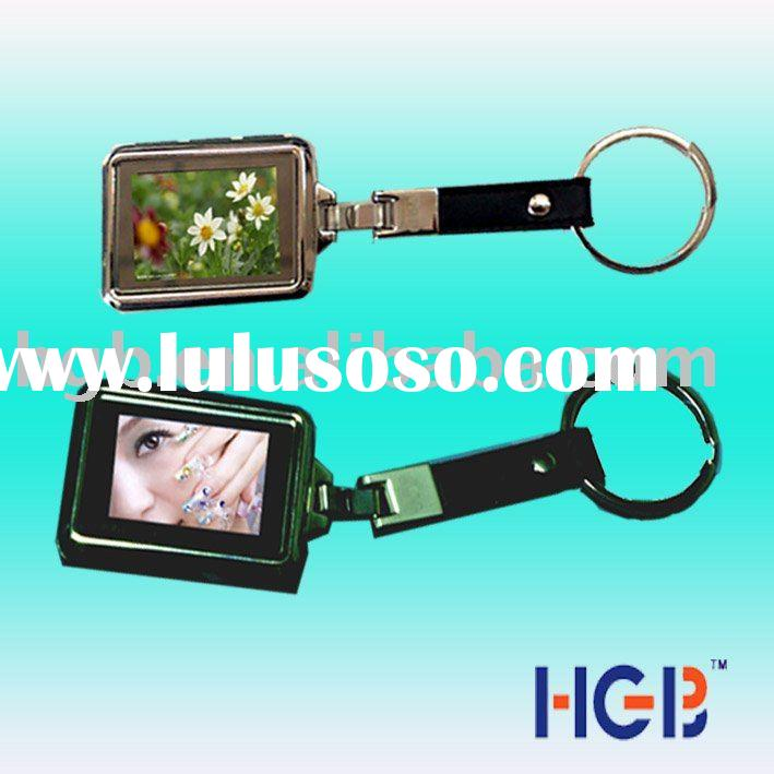 electronic key chain (1.5 inch digital photo frame)