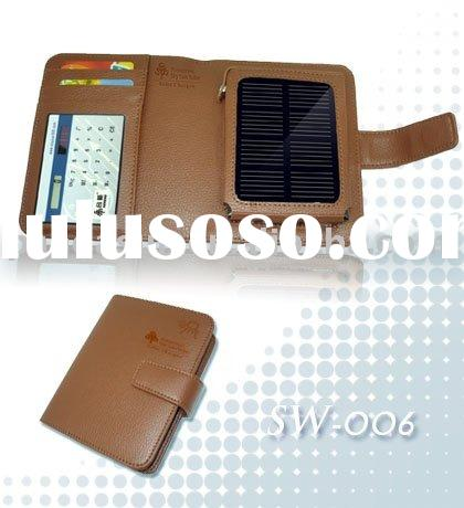 emergency solar charger for iPhone, mobile phone,MP3,digital camera,video camera,GPS,etc.