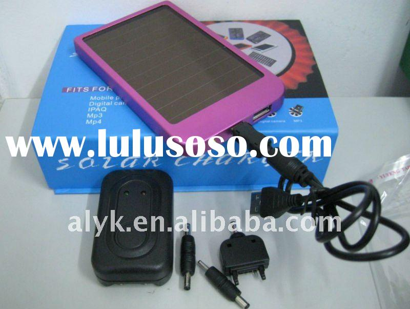energy saving 1500mAh solar charger for mobile phone, camera, mp3 mp4