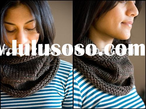 fashion ladies' neckwear/knitted neckwear/winter scarf/fashion neckwear