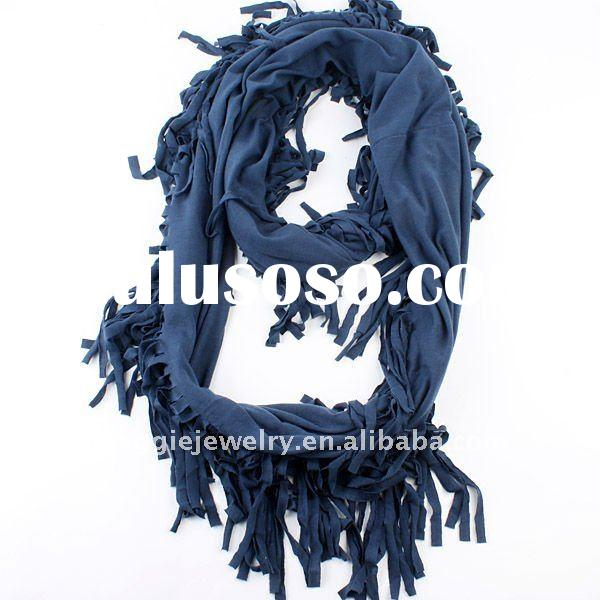 fashion silk knitted lady winter scarf 18000577