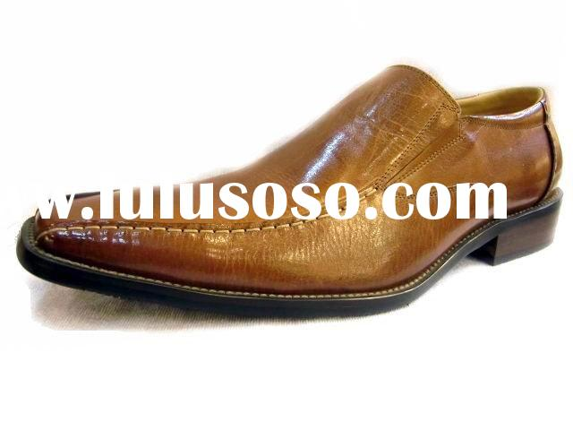 fashion wholesale dress shoes mens casual shoes 2011 (free logo supported)