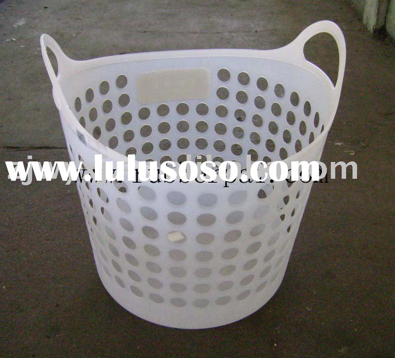 flexible plastic basket,Super plastic laundry basket