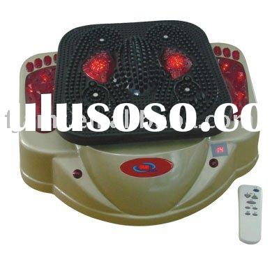 foot blood circulation massager with infrared and magnets
