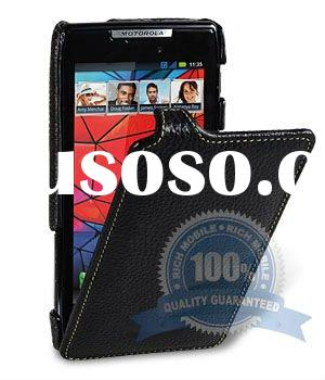 for Motorola Droid RAZR XT910 XT912 leather case