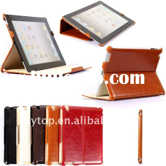 for apple ipad leather case