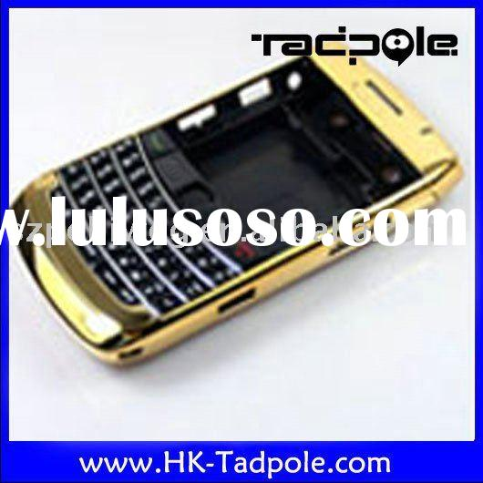 for blackberry 9700 cover brand new mobile phone accessory full housing/cover 9700 gold accept paypa