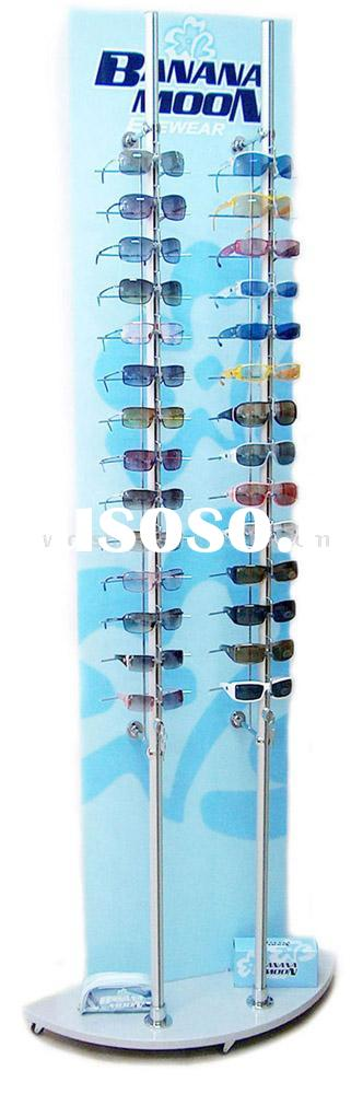glasses display(floor stand,eyeglasses display stand,eyewear display rack,sunglasses display shelf,o