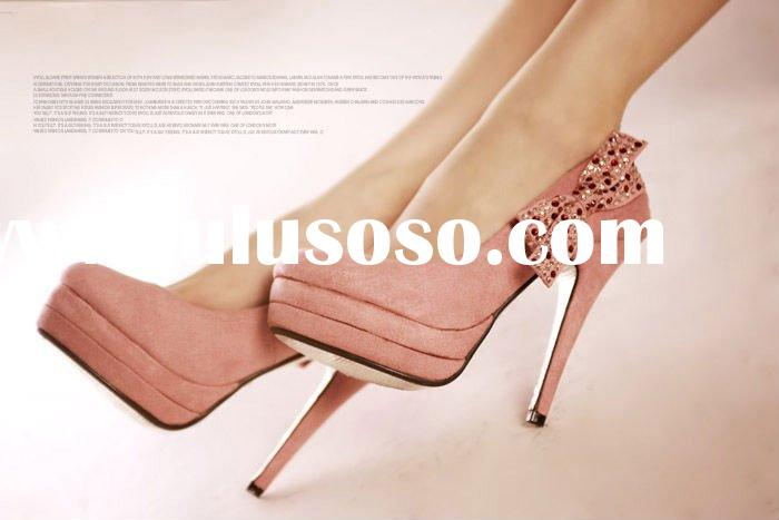 hot selling 2011 new style ladies high heel shoes