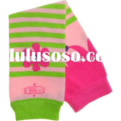 knitted baby leg warmers