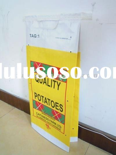 kraft paper bag for potato packing