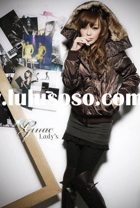 ladies fashion winter cotton-padded jacket