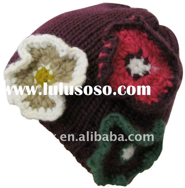 Free Knitted Flower Patterns for Hats