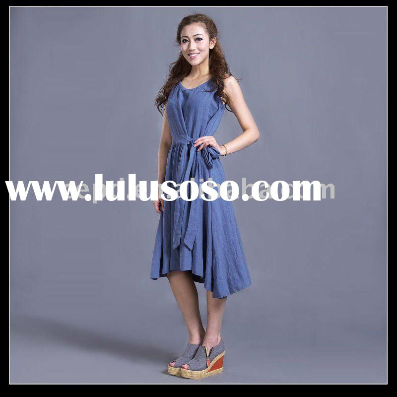 ladies linen dresses for 2011 summer