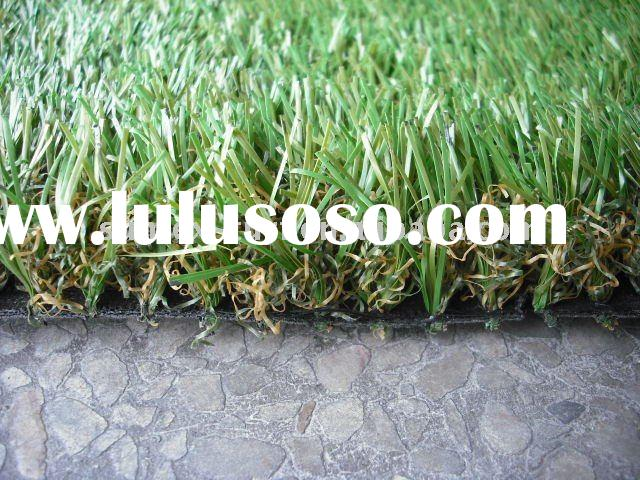 landscaping artificial grassin garden and bacony/turf/grass/synthetic lawn/ artificial turf /garden