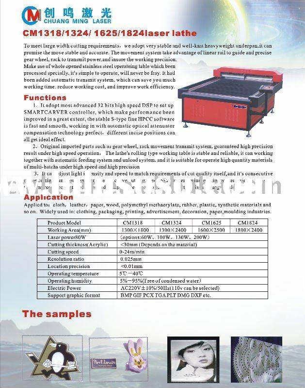 laser lathe bed,laser cutting and engravng machine