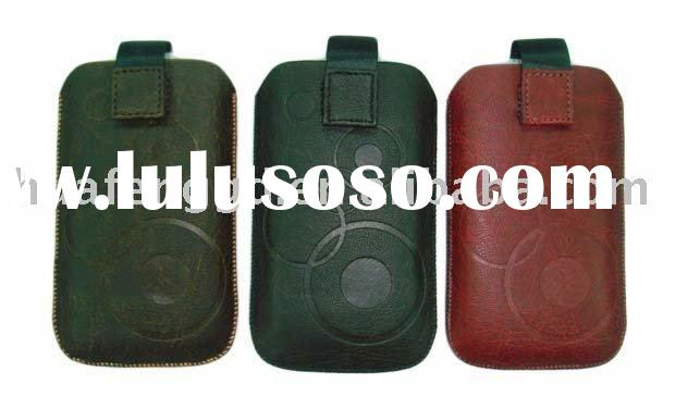 leather belt pouch for iphone 4