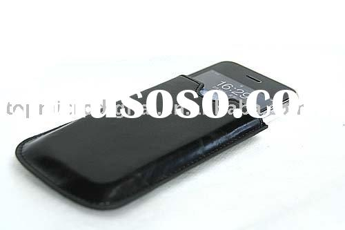 leather mobile phone case for iPhone3G new!
