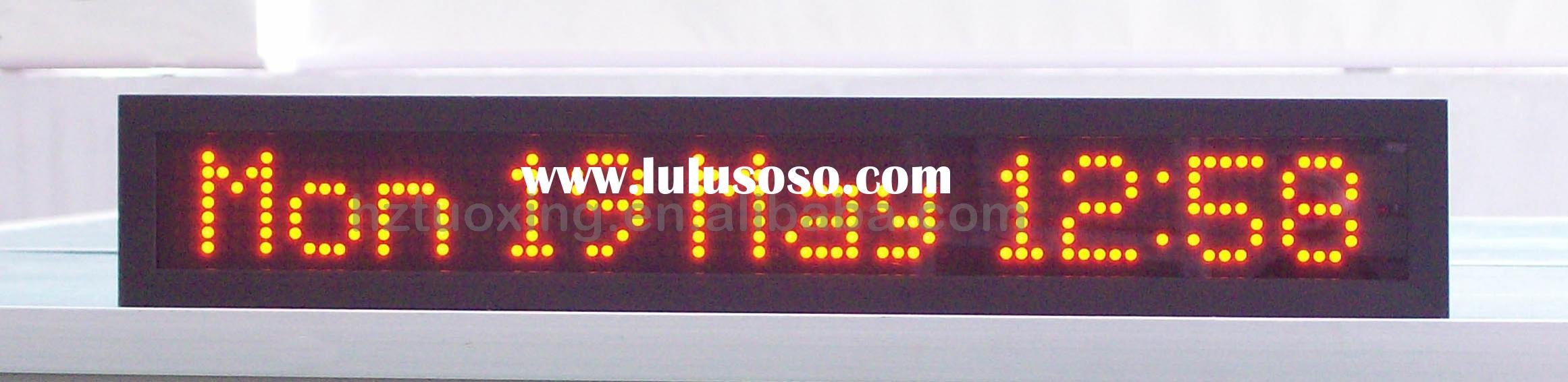 led text moving display, message moving display, single line led display, text scrolling display