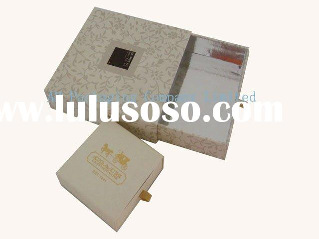 luxury clothing drawer packaging paper box