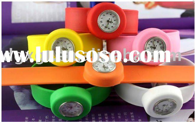 manufacturers wholesale marketing color jelly electronic watches ODM clap watch