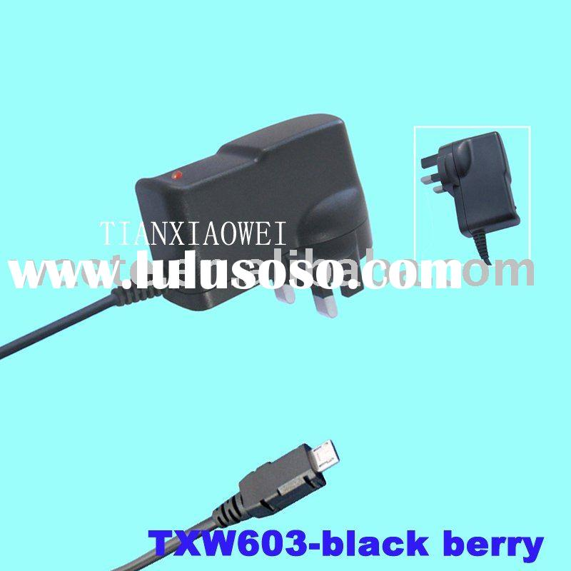 mobile phone battery charger UK plug for blackberry
