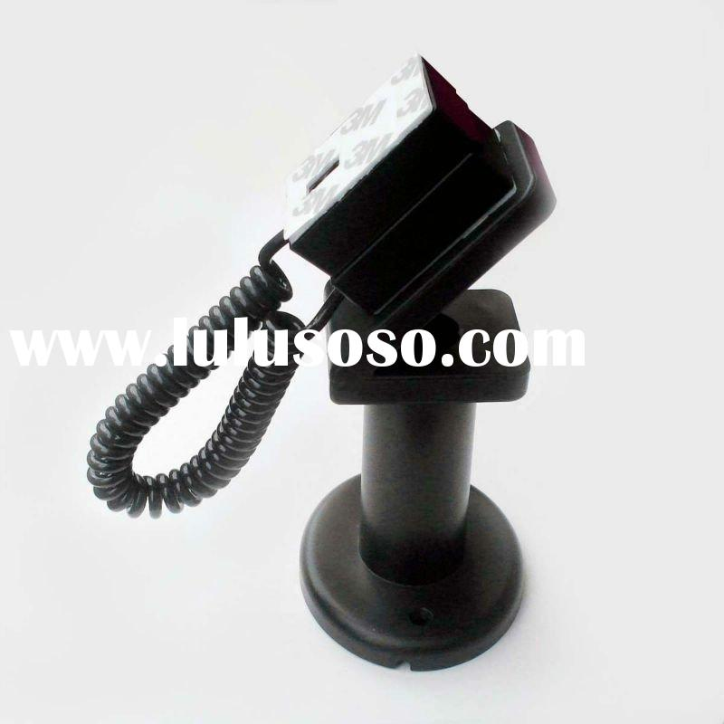 mobile phone display stand/holder with telephone line