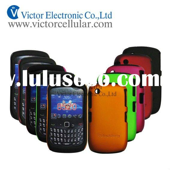 mobile phone double case for blackberry