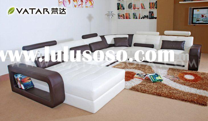 modern leather sofa/contemporary leather sofa/l shape leather sofa
