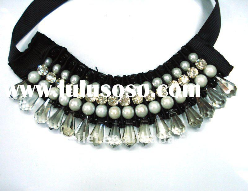 new fashion bib necklace 2011 SNK-10364