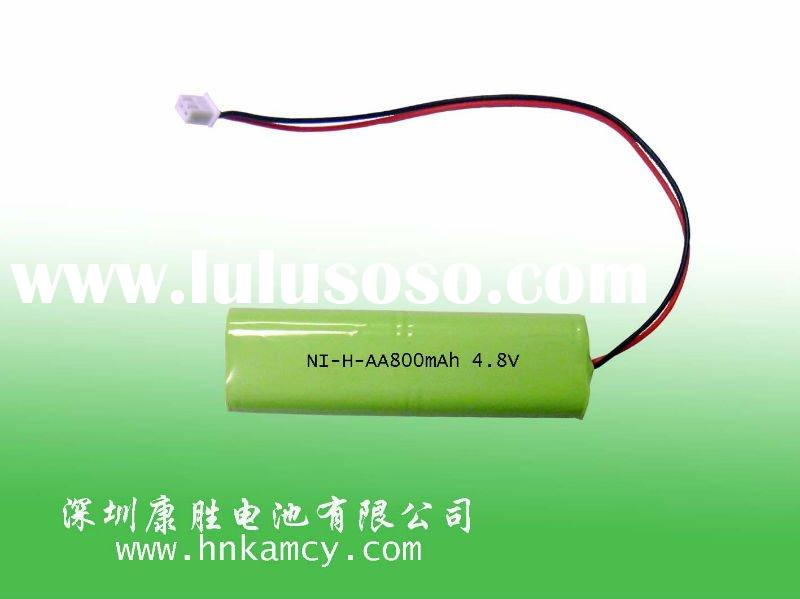 nimh 4.8V AA 800mah rechargeable battery, max power battery