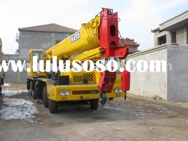 original used mounted truck crane ( used KATO 50T 2000Y terrain crane,used hydraulic mobile boom cra