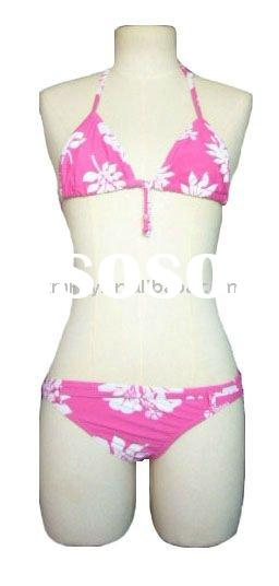 plus size lady's bathing suit