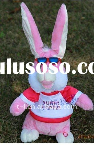 plush electric rabbit toy