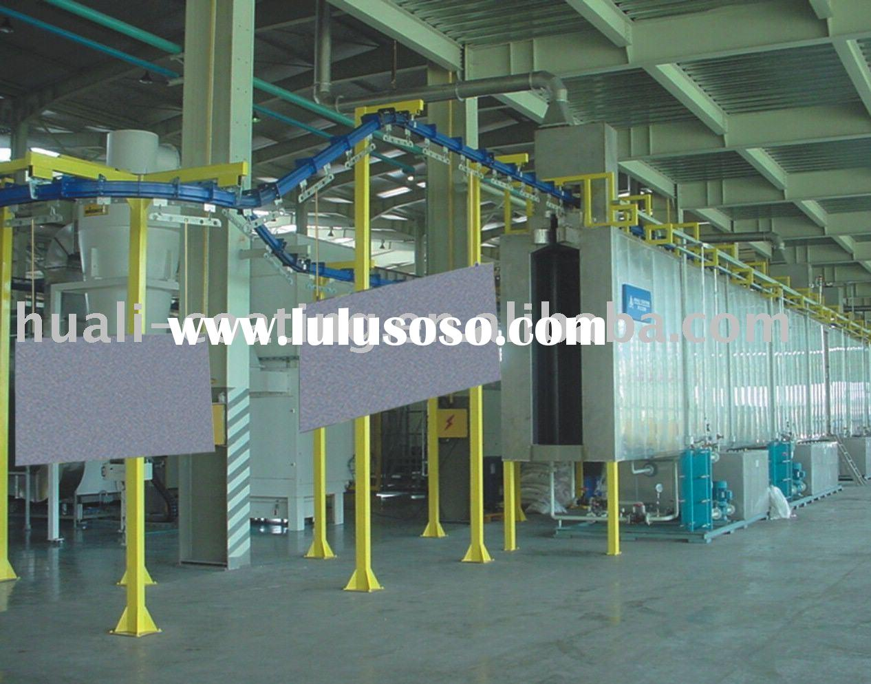 powder coating equipment for Elevator Parts
