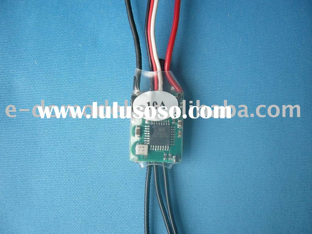 rc airplane parts brushless ESC 10A,use for mini brushless motor