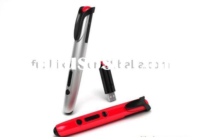 red wireless laser pointer with usb flash drive