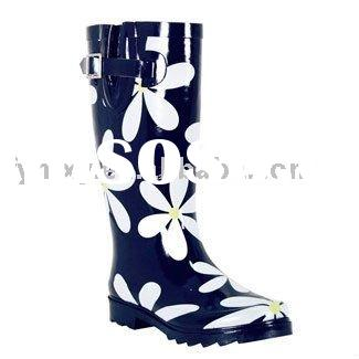 rubber rain boots for women