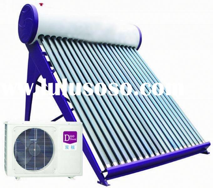 solar air conditioner and water heater CE approved
