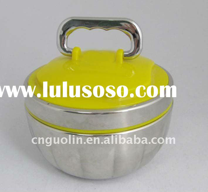 stainless steel lunch box/dinnerware