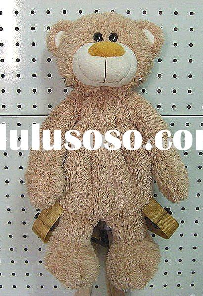 the most popular Plush Bear backpack plush toy Stuffed toy from ICTI Certified Factory